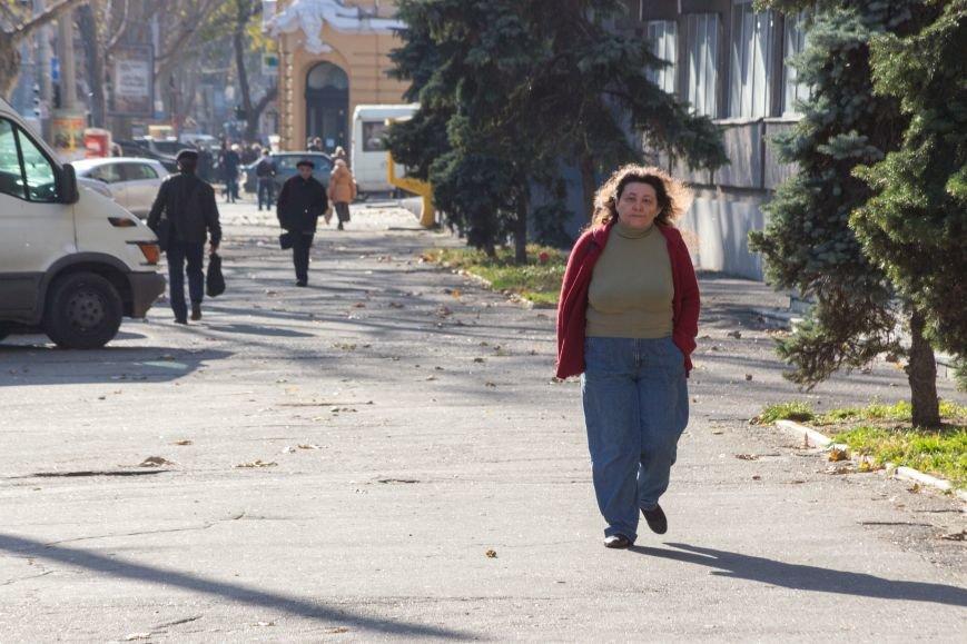 4c6bcf69abfc24f80f89546c879de927 Потеплело: На улицах Одессы повеселело