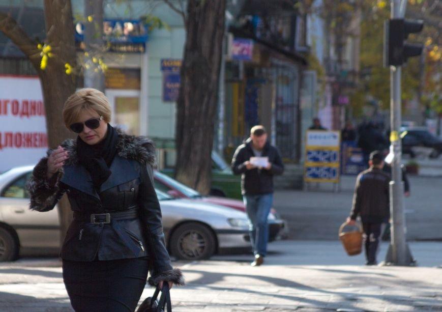 6d1574e8af2ae5bd738f57f78c6904b0 Потеплело: На улицах Одессы повеселело