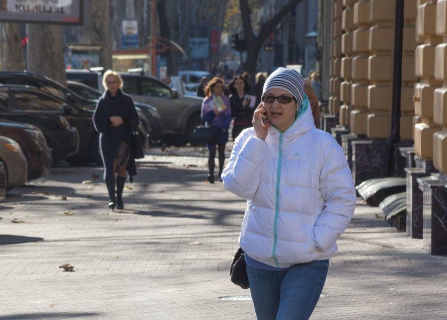 93d4d78ad193373099c5f06b0da40358 Потеплело: На улицах Одессы повеселело