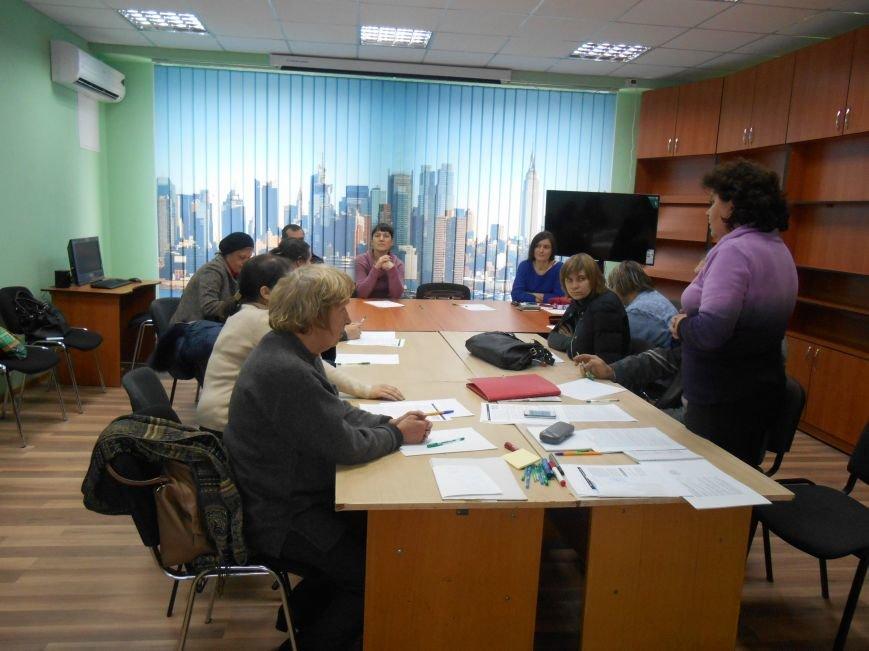 В Славянске для переселенцев проводят тренинги (фото) - фото 1