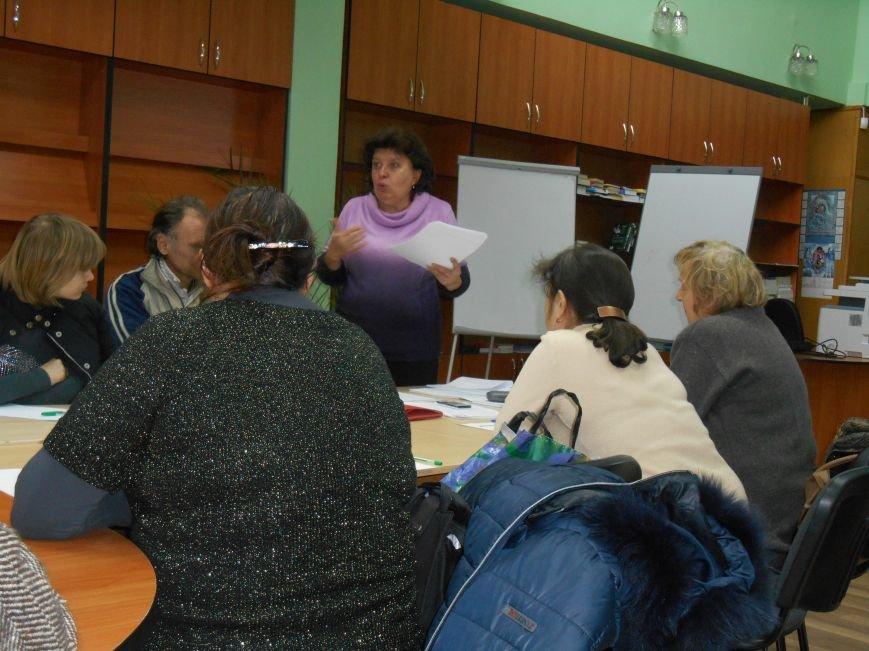В Славянске для переселенцев проводят тренинги (фото) - фото 5