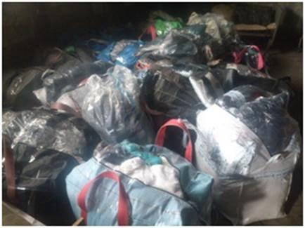 СБУ задержали контрабандистов с попыткой ввоза товара в оккупацию на 750 тысяч гривен (фото) - фото 1