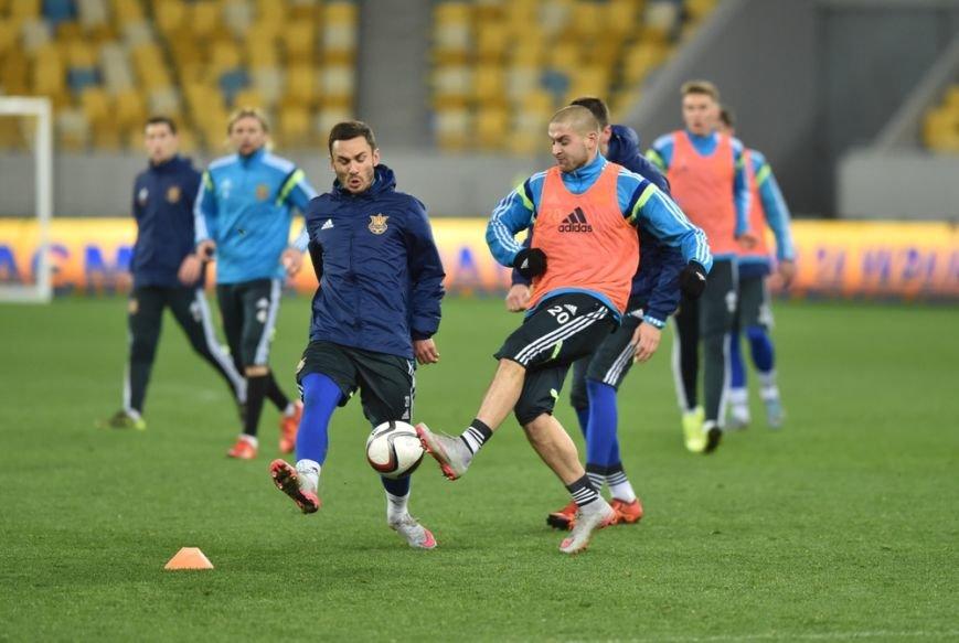 Як збірна України з футболу готується до поєдинку із Словенією (ФОТОРЕПОРТАЖ) (фото) - фото 1
