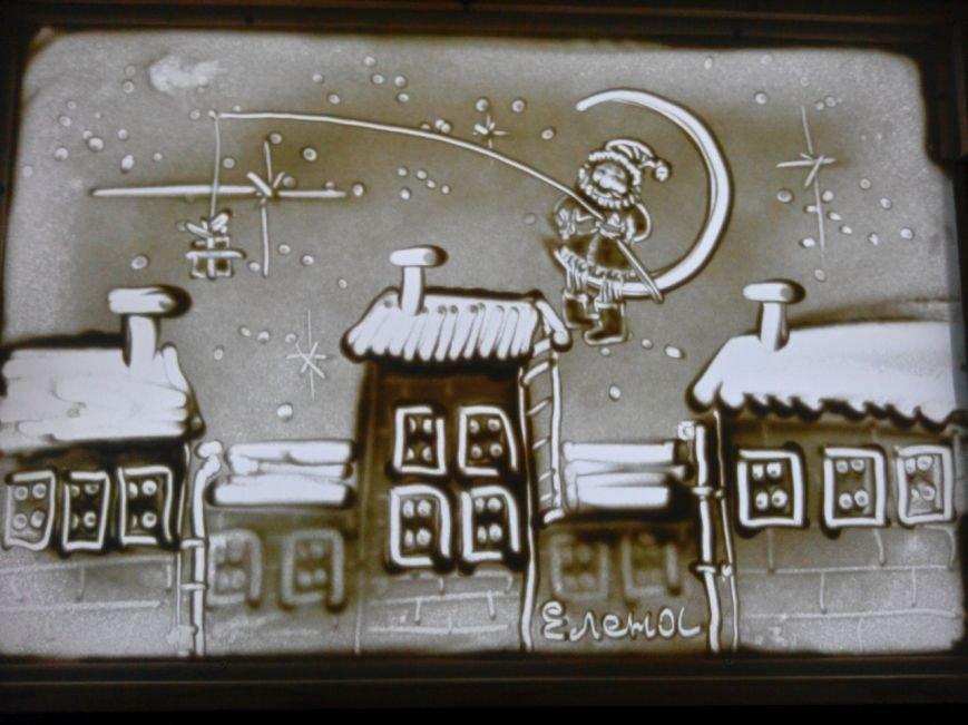 В Эжве появилась студия песочной анимации (фото) - фото 3