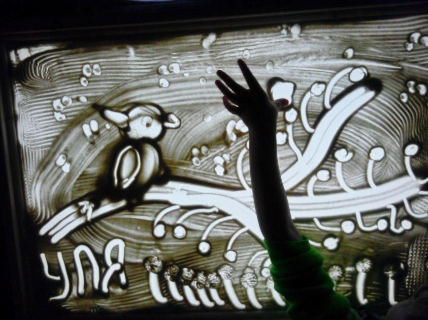 В Эжве появилась студия песочной анимации (фото) - фото 2