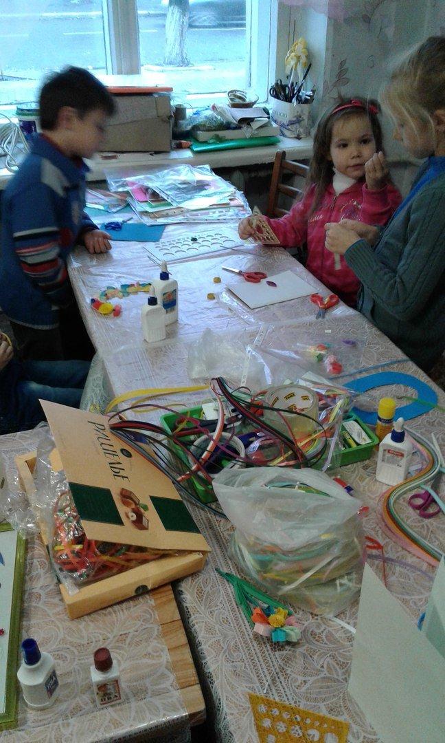 В Красноармейске детей переселенцев обучили основам квилллинга (фото) - фото 3