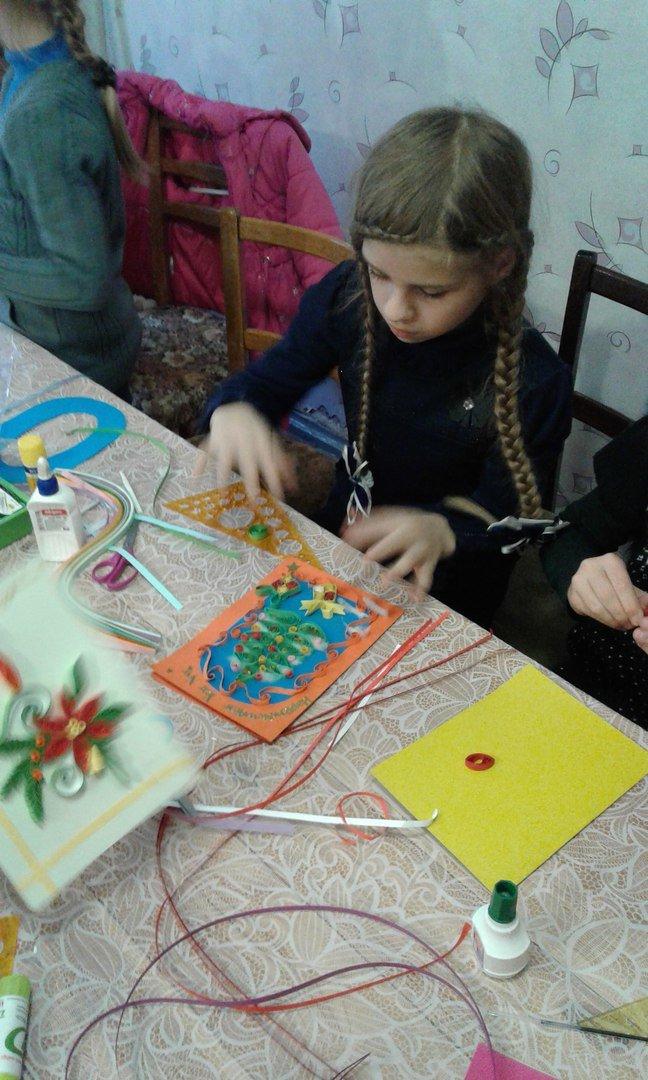 В Красноармейске детей переселенцев обучили основам квилллинга (фото) - фото 2