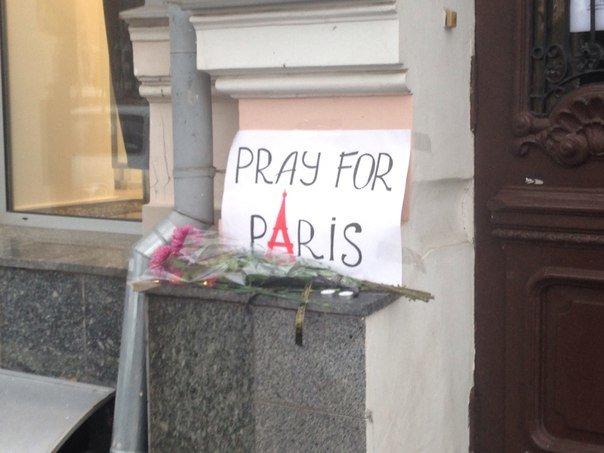 Харьковчане выразили соболезнования жителям Франции (ФОТО), фото-1