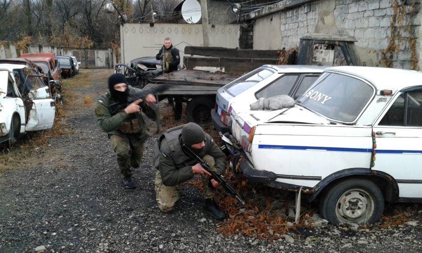 В Добропольском отделении полиции  была проведена проверка боевой готовности полицейских, фото-1