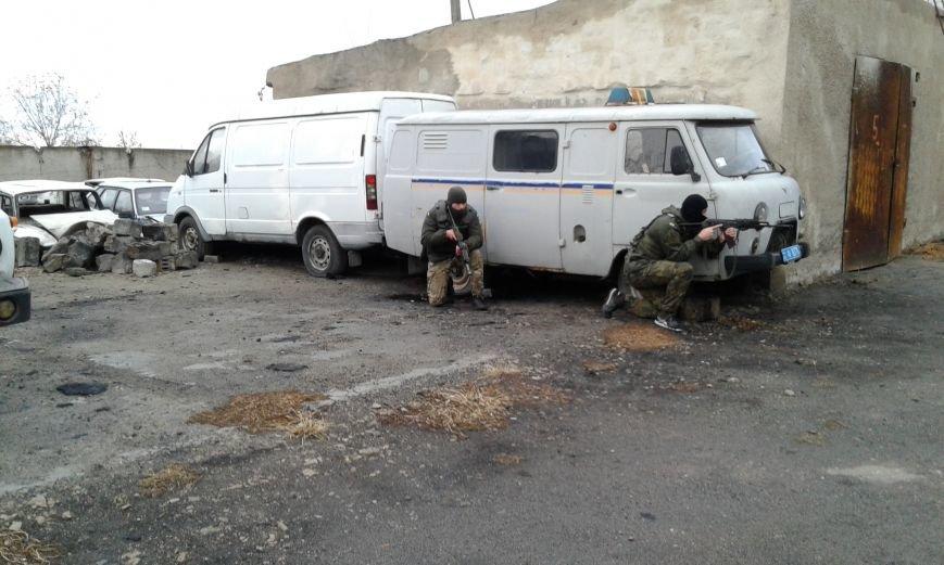 В Добропольском отделении полиции  была проведена проверка боевой готовности полицейских, фото-2