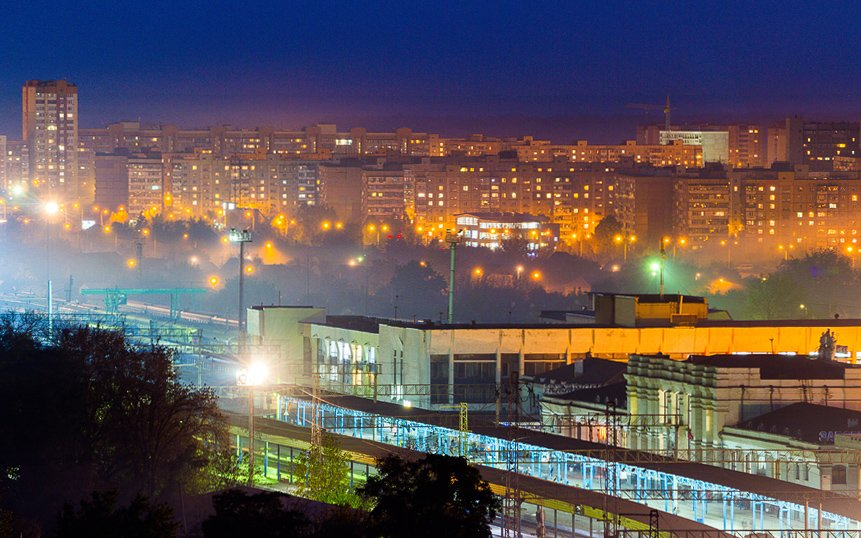 ФОТОПРОЕКТ: Запорожские многоэтажки готовятся ко сну (фото) - фото 17
