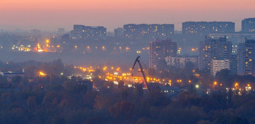 ФОТОПРОЕКТ: Запорожские многоэтажки готовятся ко сну (фото) - фото 7