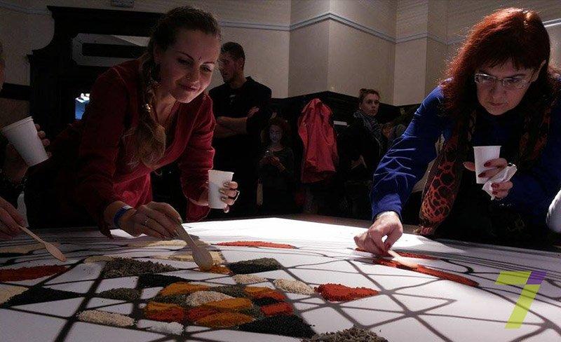 Одесситы создали гигантскую мозаику из специй (ФОТО) (фото) - фото 1