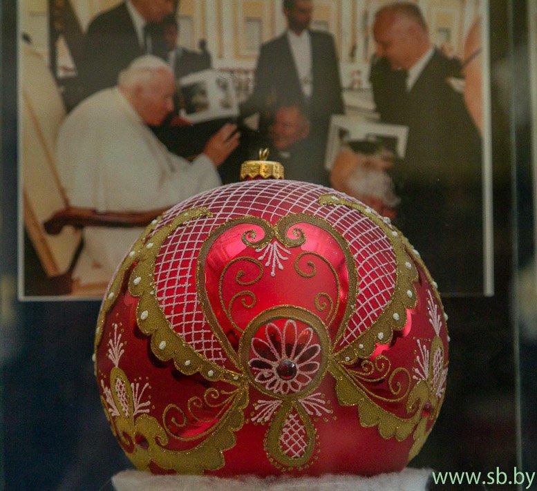 В Гродно в Новом замке открылась уникальная выставка елочных игрушек (фото) (фото) - фото 4