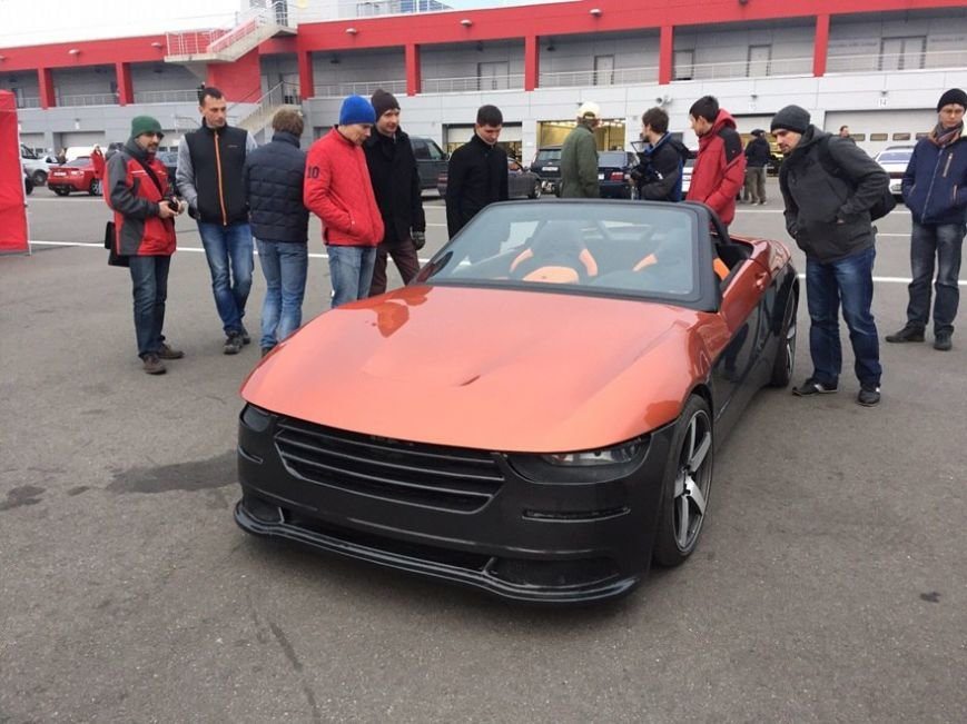 На базе «Лады Калины» создан молодежный спорткар «Крым» (ФОТО) (фото) - фото 2