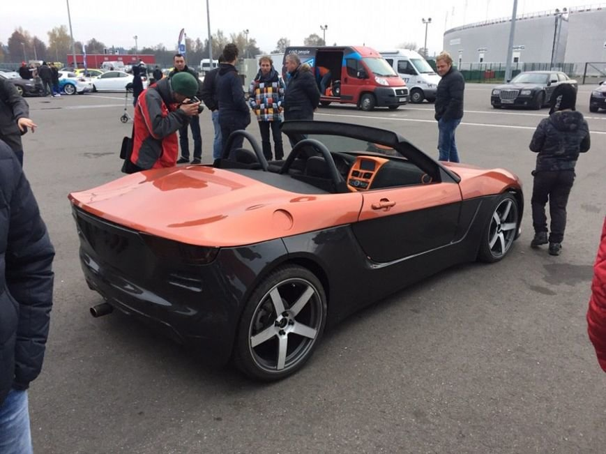 На базе «Лады Калины» создан молодежный спорткар «Крым» (ФОТО) (фото) - фото 1
