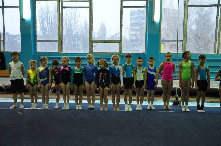 В Днепродзержинске прошел открытый чемпионат города по прыжкам на батуте (фото) - фото 1