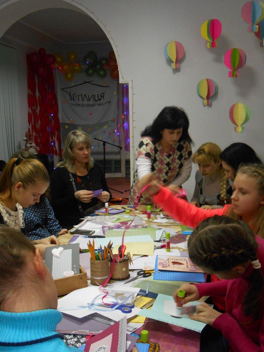 Святкові поштівки від гостей Теплиці, як проводили майстер клас на півріччя (фото) - фото 2