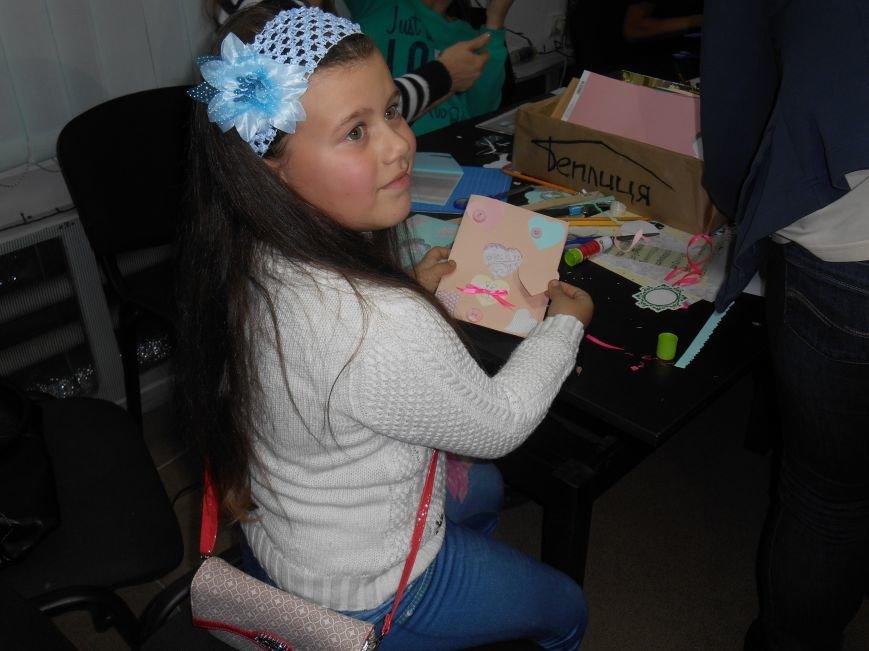 Святкові поштівки від гостей Теплиці, як проводили майстер клас на півріччя (фото) - фото 3