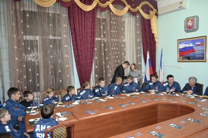 Ялту посетила  сборная Донецкой Народной Республики по боксу, фото-7