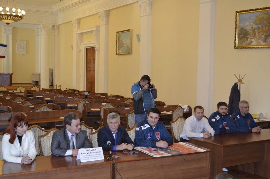 Ялту посетила  сборная Донецкой Народной Республики по боксу, фото-3