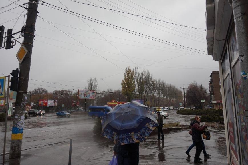 На центральном проспекте  Кривого Рога не работают светофоры (ФОТО) (фото) - фото 3