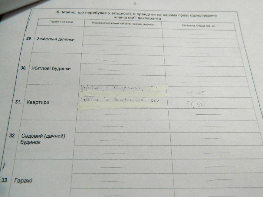 Сколько зарабатывает, где живет и на чем ездит новый мэр Запорожья, - декларация (фото) - фото 4