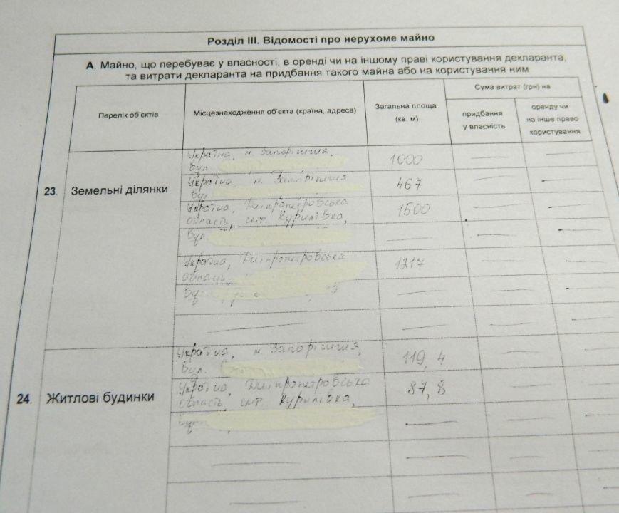 Сколько зарабатывает, где живет и на чем ездит новый мэр Запорожья, - декларация (фото) - фото 3