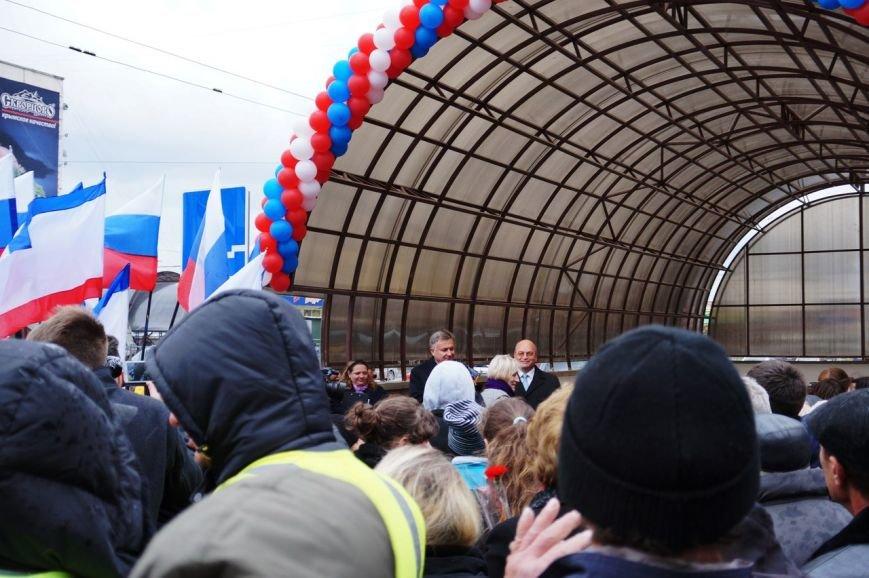 В Симферополе сегодня торжественно открыли подземный переход на пр. Победы (ФОТО) (фото) - фото 1