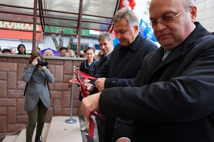 В Симферополе сегодня торжественно открыли подземный переход на пр. Победы (ФОТО), фото-2