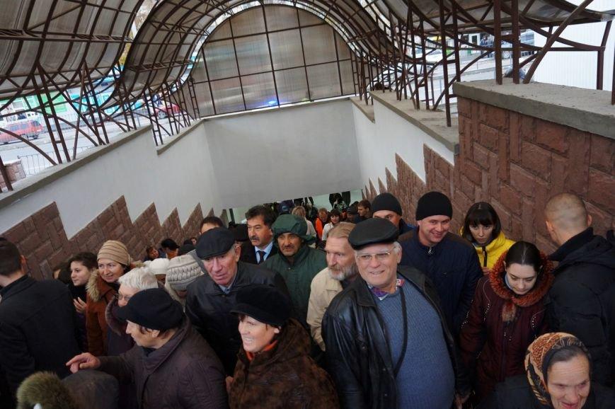 В Симферополе сегодня торжественно открыли подземный переход на пр. Победы (ФОТО) (фото) - фото 4