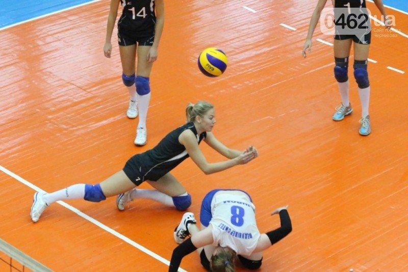 Волейболистки черниговского «Педуниверситета» одержали первую в сезоне победу, фото-8
