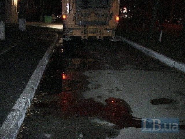 В Киеве мусоровоз насмерть сбил старушку (ФОТО) (фото) - фото 1