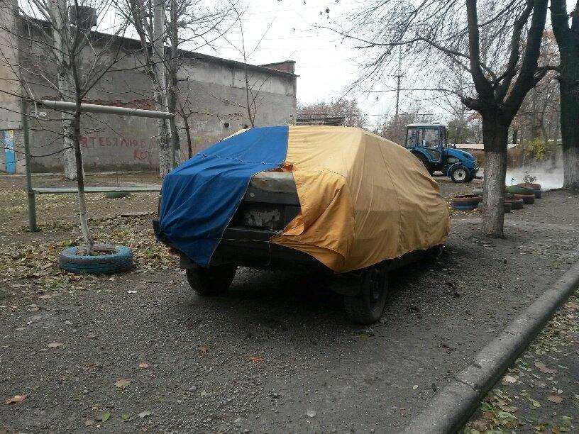 В Мариуполе сгорел автомобиль, припаркованный у подъезда (ФОТО), фото-3