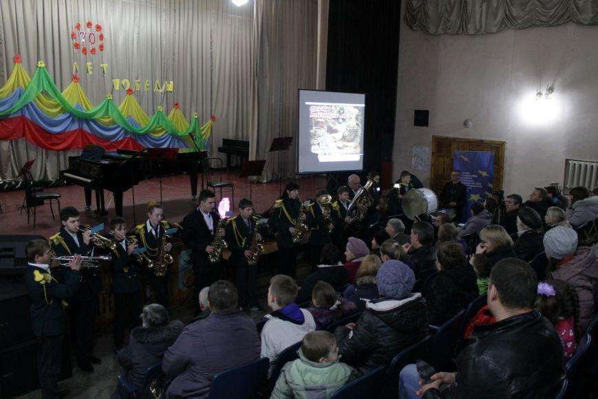 В добропольской музыкальной школе звучали песни военных лет (ФОТО), фото-1