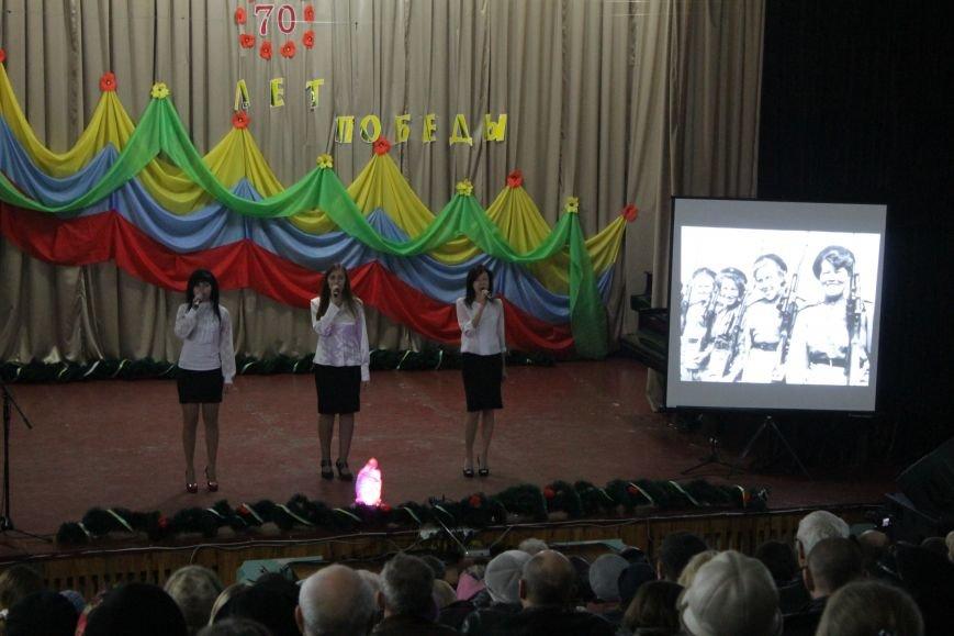 В добропольской музыкальной школе звучали песни военных лет (ФОТО), фото-12