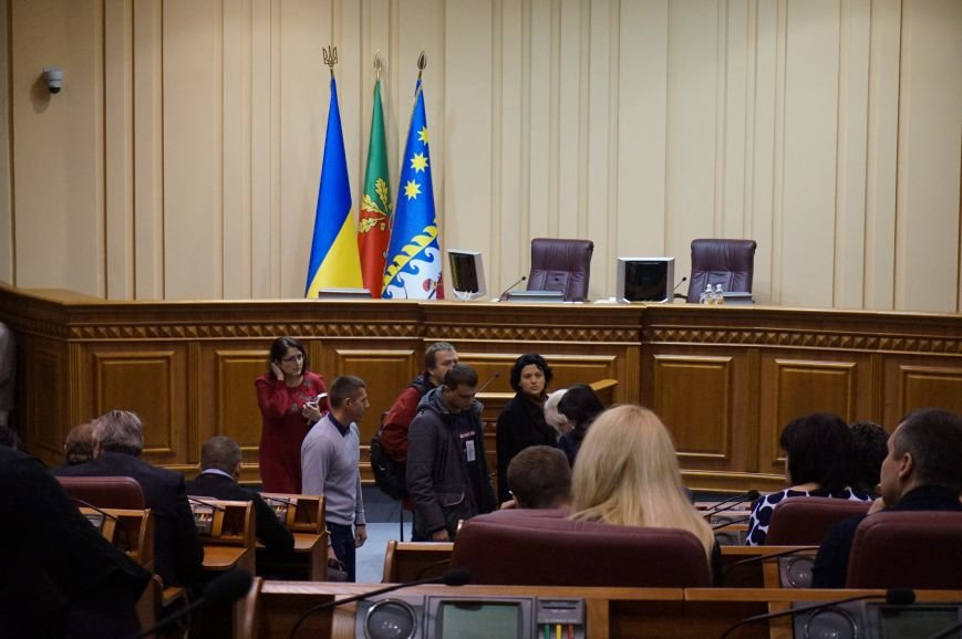 В Кривом Роге прошла первая сессия нового городского совета (ФОТО, ОБНОВЛЕНО) (фото) - фото 1
