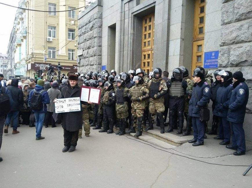 Возле Харьковского горсовета начали собираться активисты (ФОТО), фото-4