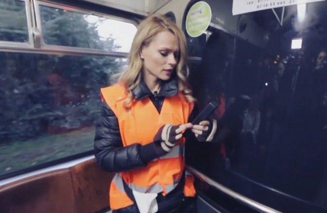 Як інспектор Фреймут перевіряла вінницькі трамваї, показали на всю Україну, фото-2