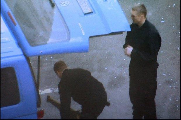 Скандал: В охране одесского застройщика патриоты узнали убийцу из Майдана (ФОТО) (фото) - фото 1