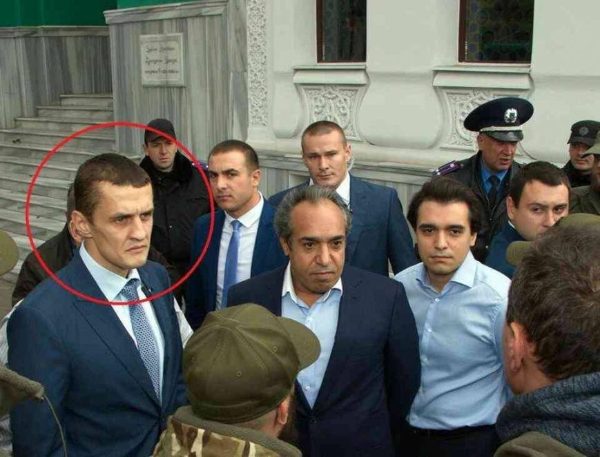 b19eb5db3fb0a48f94cb6e1ec520ceea Скандал: в охране одесского застройщика патриоты узнали убийцу с Майдана