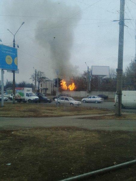 В Харькове горит частный сектор (ФОТО) (фото) - фото 1