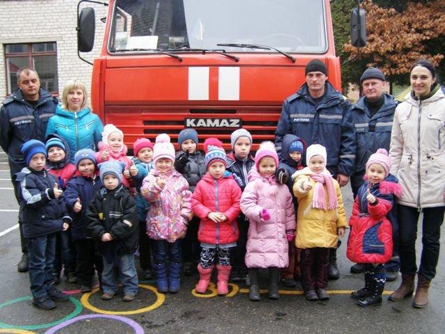 У Житомирі рятувальники проводять уроки безпеки серед дошкільнят (фото) - фото 1