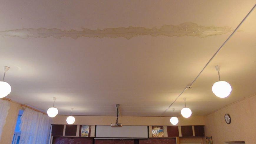 Стихия повредила крышу в мариупольской школе (ФОТО) (фото) - фото 1