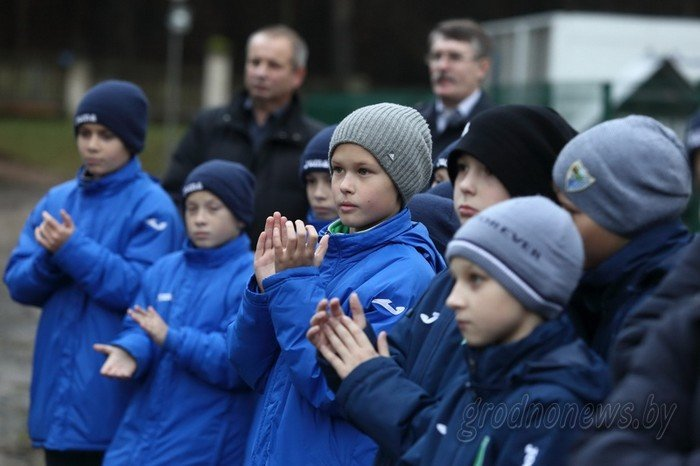 В Гродно началось строительство футбольного манежа (фото) - фото 5