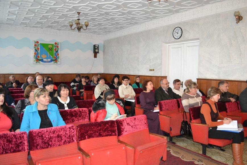 В Добропольской райгосадминистрации состоялось совещание, фото-1