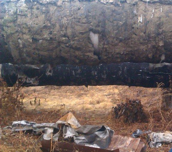 В Кременчуге вор металла обокрал тепломагистраль (ФОТО) (фото) - фото 1