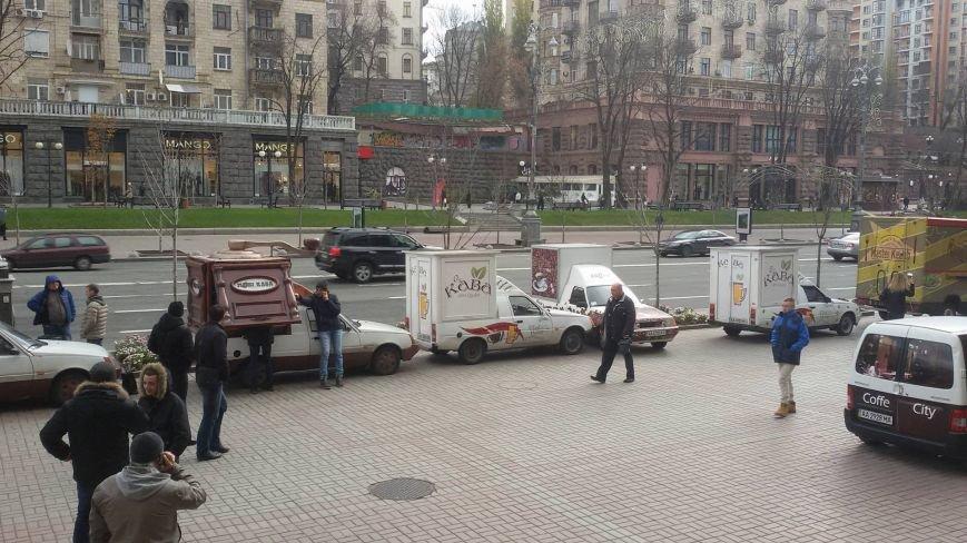 Собственники кофемобилей опять пикетируют КГГА (ФОТО) (фото) - фото 1