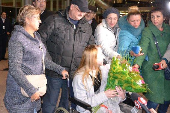 Надія Андрухів, яка постраждала внаслідок теракту у Львові, повернулася додому (ФОТО+ВІДЕО) (фото) - фото 2