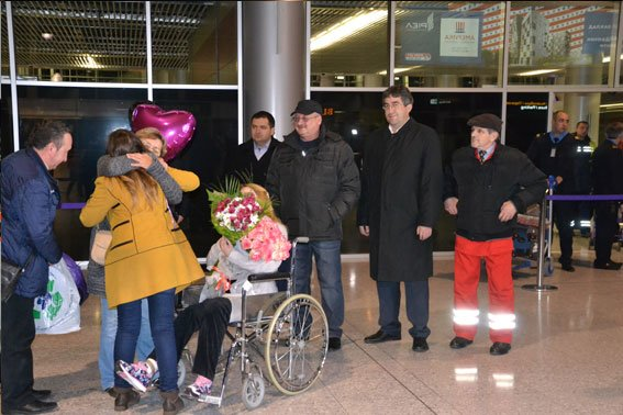 Надія Андрухів, яка постраждала внаслідок теракту у Львові, повернулася додому (ФОТО+ВІДЕО) (фото) - фото 1